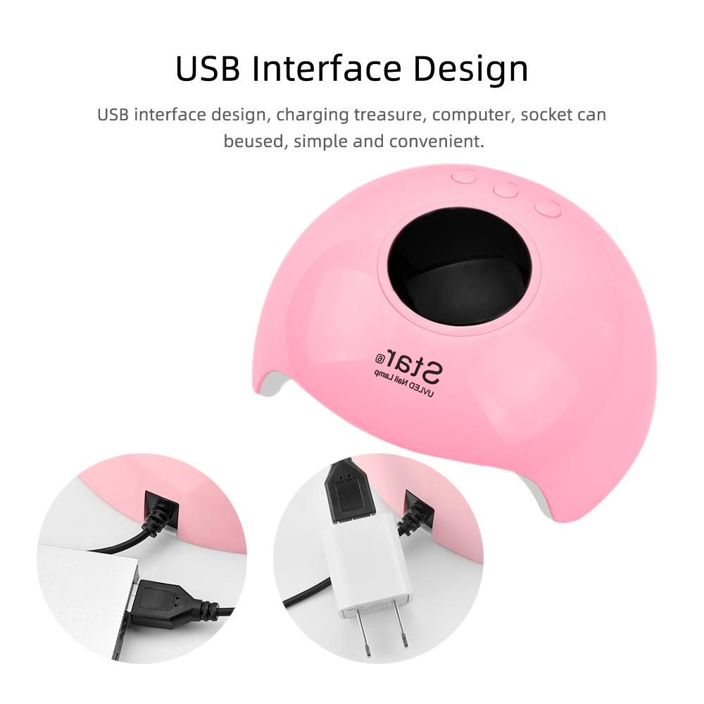 Pink-Nail-Dryer-Lamp-Uv-Led-Ongles-Materiel-Professionnelle-Lampe-Dryer-Nail-Lampa-Manicure-Gel-Led (1)