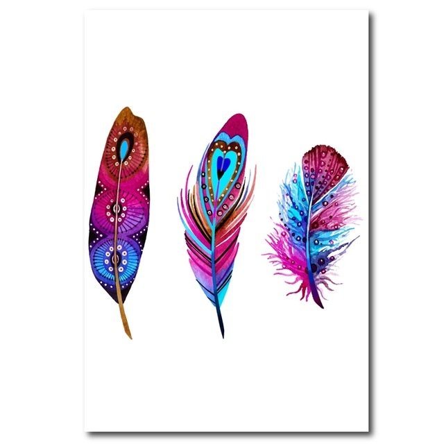 Watercolor-Colorful-Feather-Canvas-Art-Print-Poster-Hand-Drawn-Feathers-Native-Painting-Wall-Pictures-For-Home.jpg_640x640 (2)