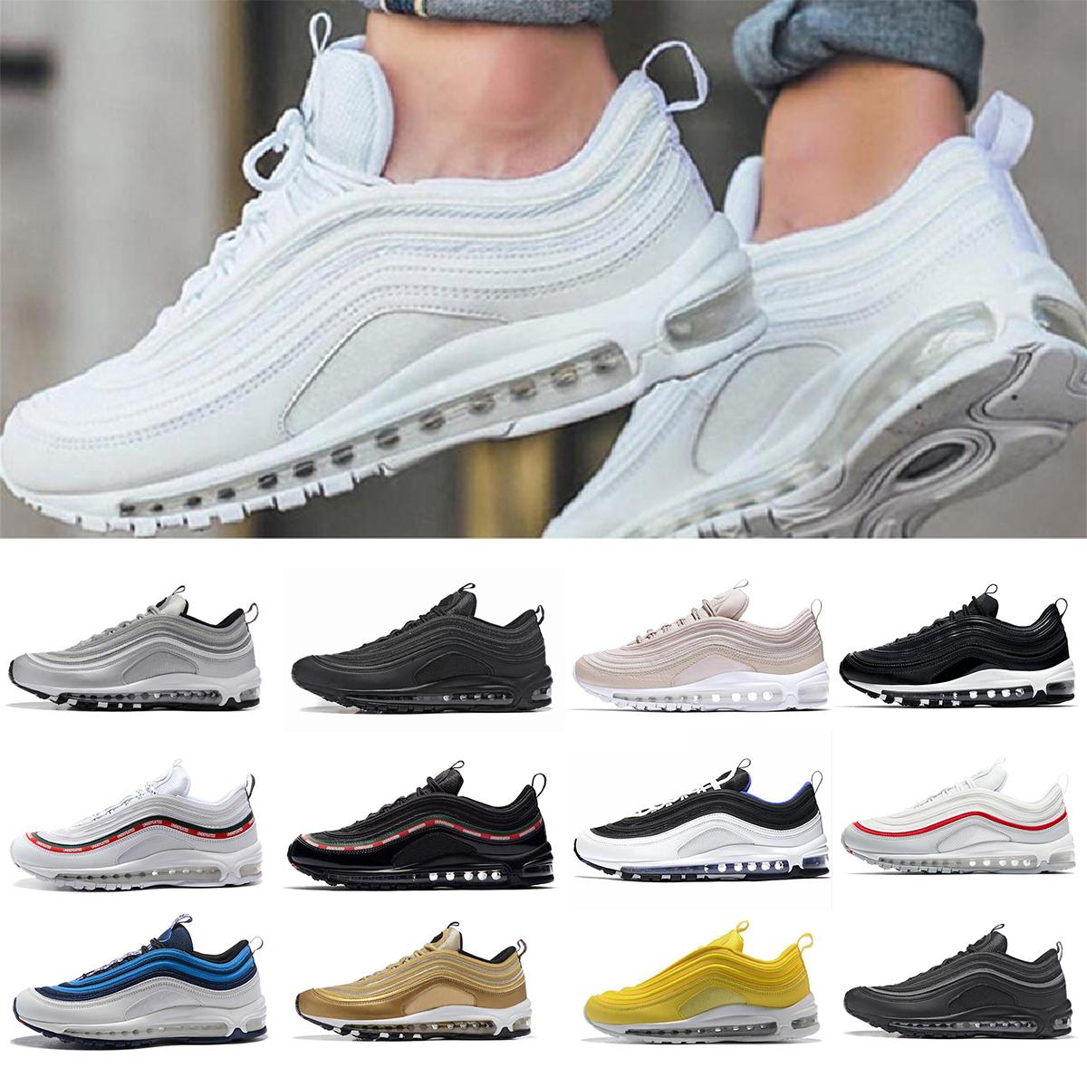 Nike air max 97 airmax 97 Venta caliente Nuevos Hombres corriendo Zapato  Cojín 97 KPU Plástico Zapatos de entrenamiento Barato Al Por Mayor de ...