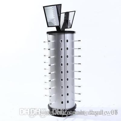 royalr Claro 5 Pares Soporte de Cristal Vasos portagafas Expositor de Gafas de Sol Organizador Marco del Estante del escaparate