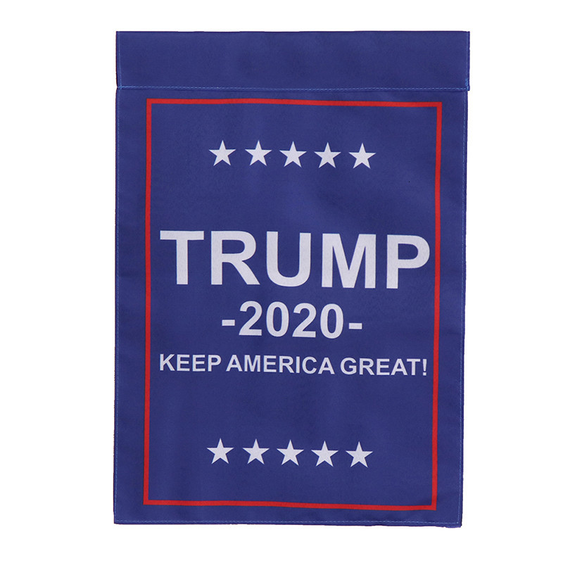 30*45cm Garden Flag Donald Trump President 2020 Yard Lawn Decoration for Supporting President TrumpFlagpole Not Included