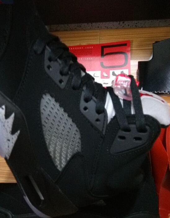Wholesale Black Metallic 5s Top Quality Metallic Black OG GOLD MEDAL Basketball Shoes Men Women size With Box