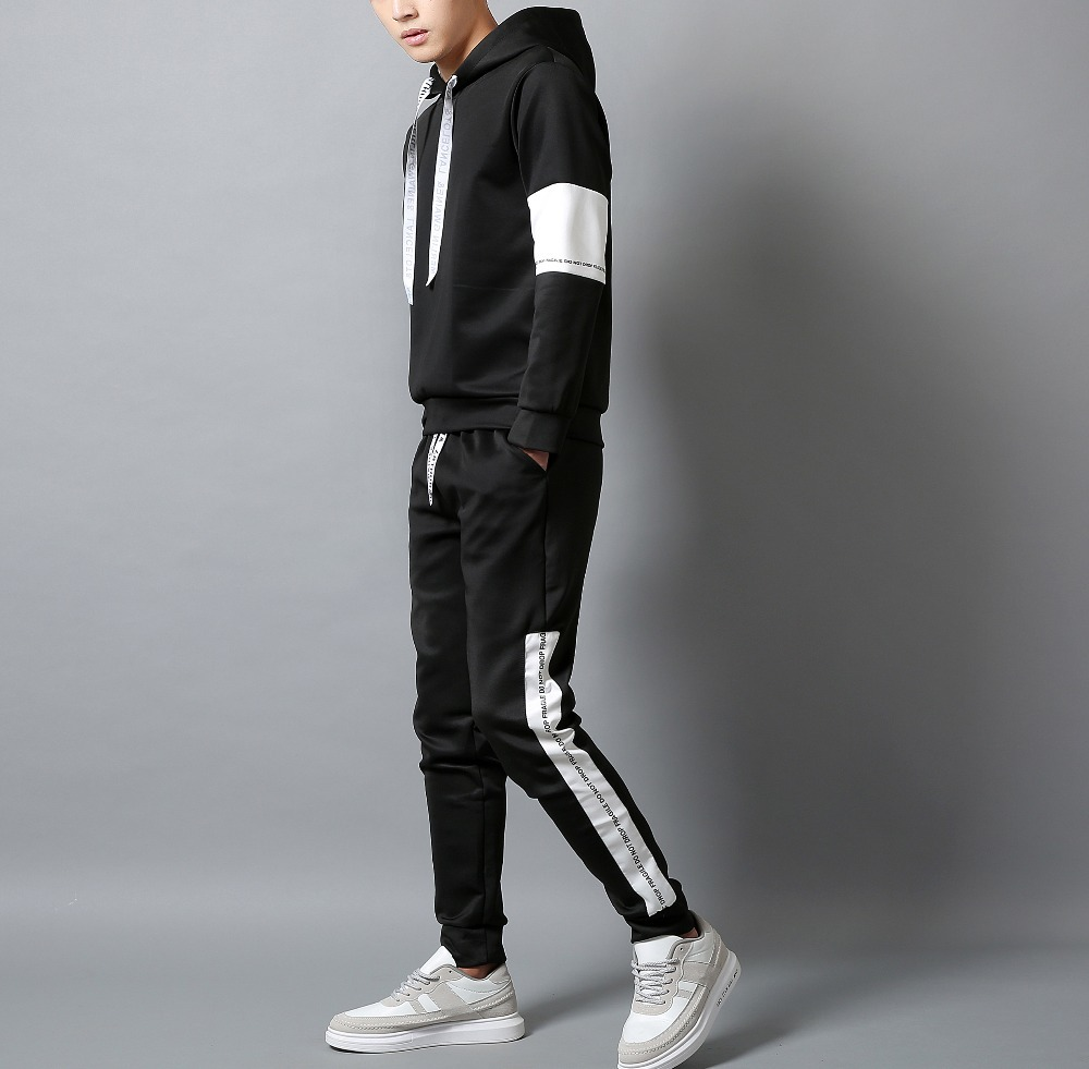 Casual-tracksuit-Set-Men-Fashion-2019-Jogger-Sports-Sportswear-Suits-Spring-Autumn-Two-Pieces-Hoodies-Pants (2)