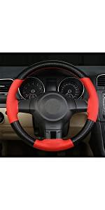 Steering Wheel Cover - Red
