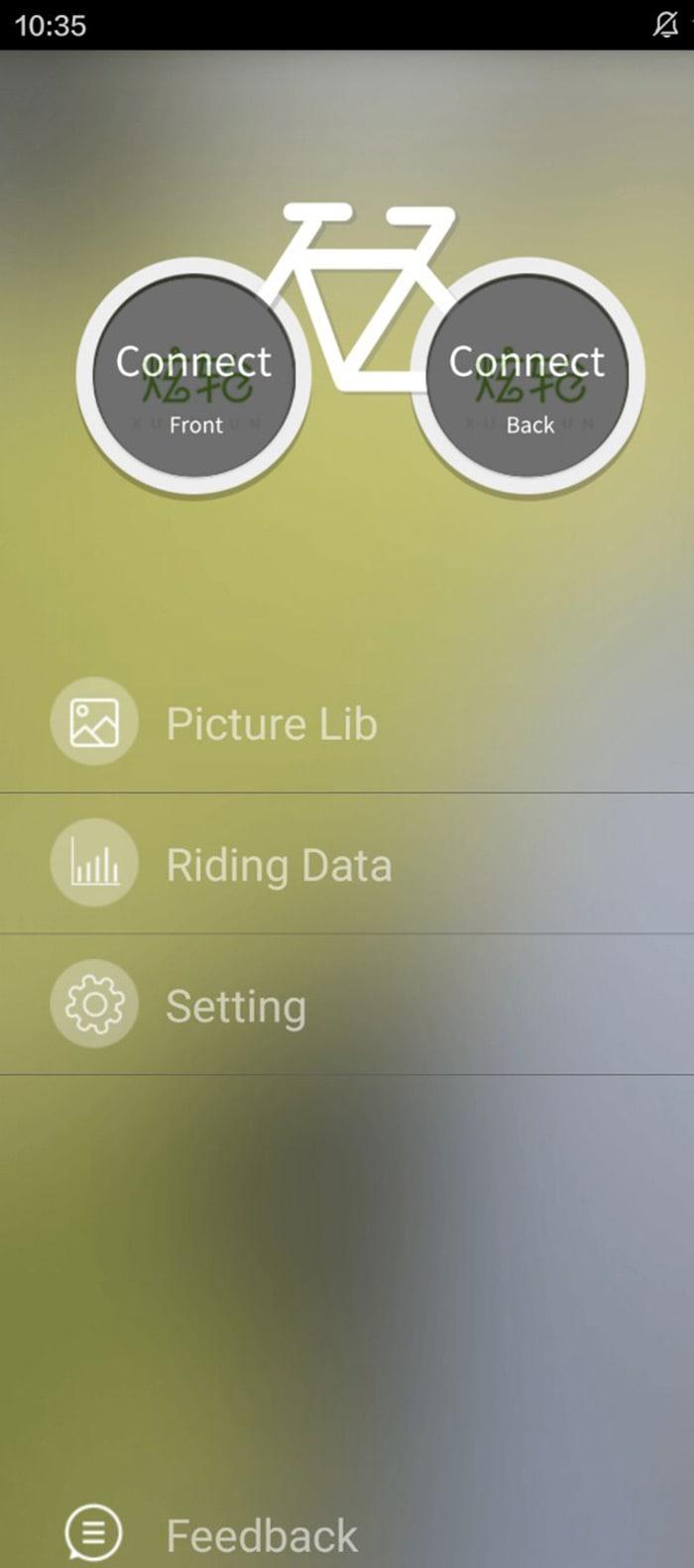 XuanWheel X1 Colorful Bicycle Wheel Spoke Light with 192pcs RGB LED App Control- Black