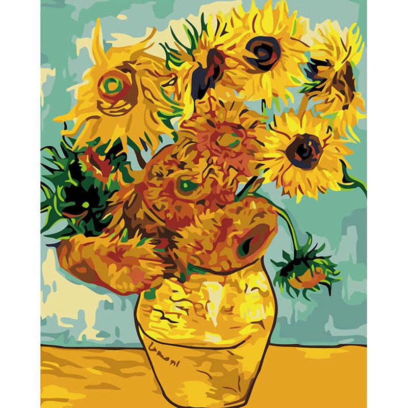 Pintura de Lienzo de Bricolaje para Adultos Principiante YDong Kits de Pintura por N/úMeros para Adultos Regreso