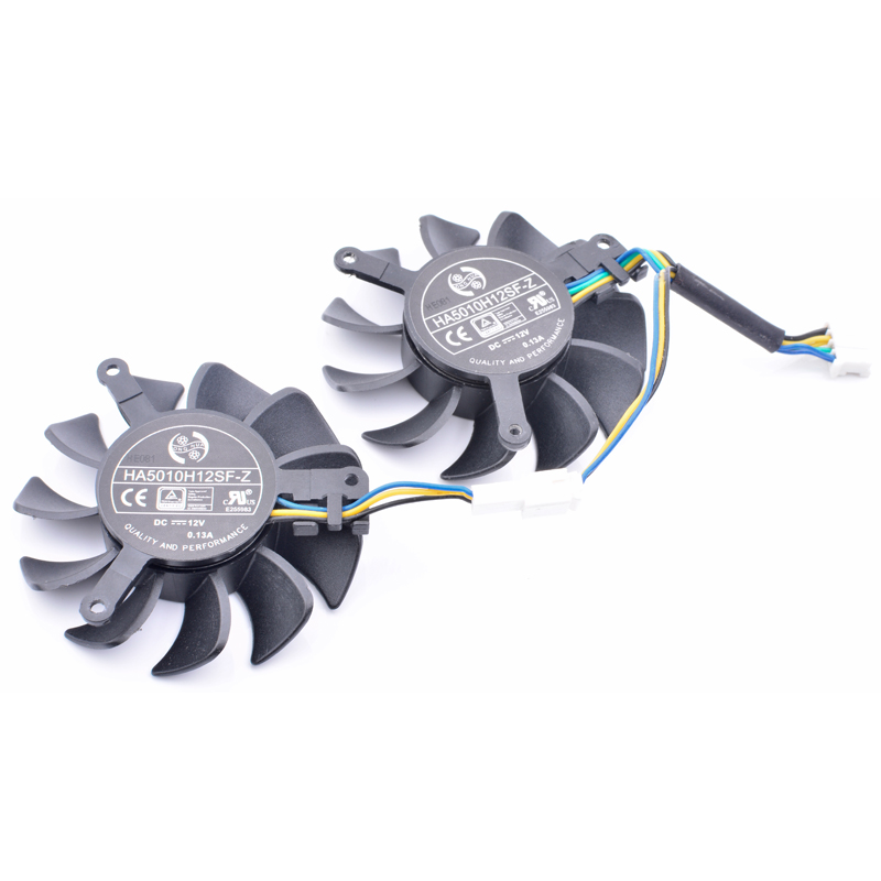 PLA09215B12H 87mm DC 12V 0.55A 4Wire GPU VGA Graphics Cooler Fan As Replacement For MSI N460GTX GTX-950-2GD5-OC Card Cooling