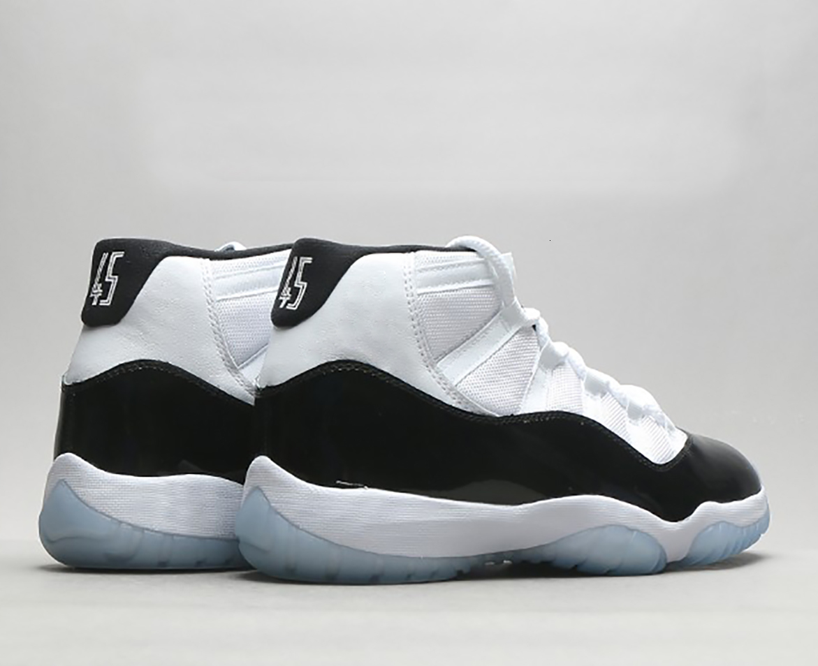 TOP Factory Version Jumpman Spaces Jams 11S XI 11 Mens Basketball Shoes Womens Gamma Blue GS Bred Concord Sport Sneakers With Box