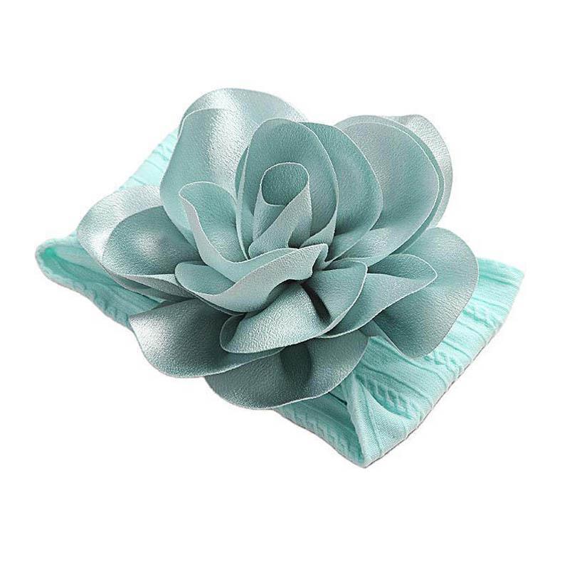 Hot sale flower baby headbands soft nylon girls designer headbands newborn designer head bands designer hair accessories B1636