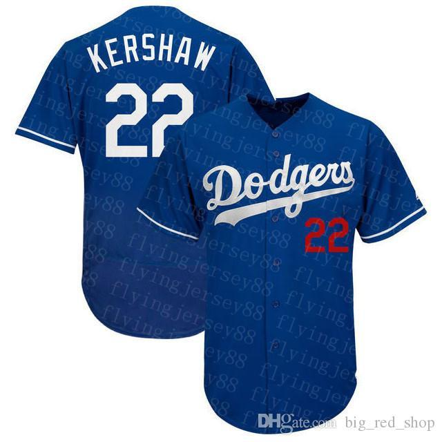 2020 New 35 Cody Bellinger Jersey 22 Clayton Kershaw 50 Mookie Betts Custom Mike Piazza Justin Turner Machado Hernandez Baseball Jerseys top