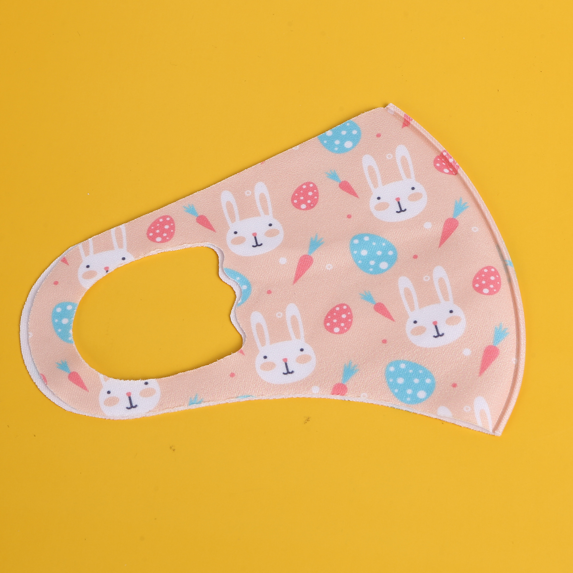 Children kids ice silk protective printed masks dustproof breathable anti-haze repeatable washing customizable shields mouth mask fast ship