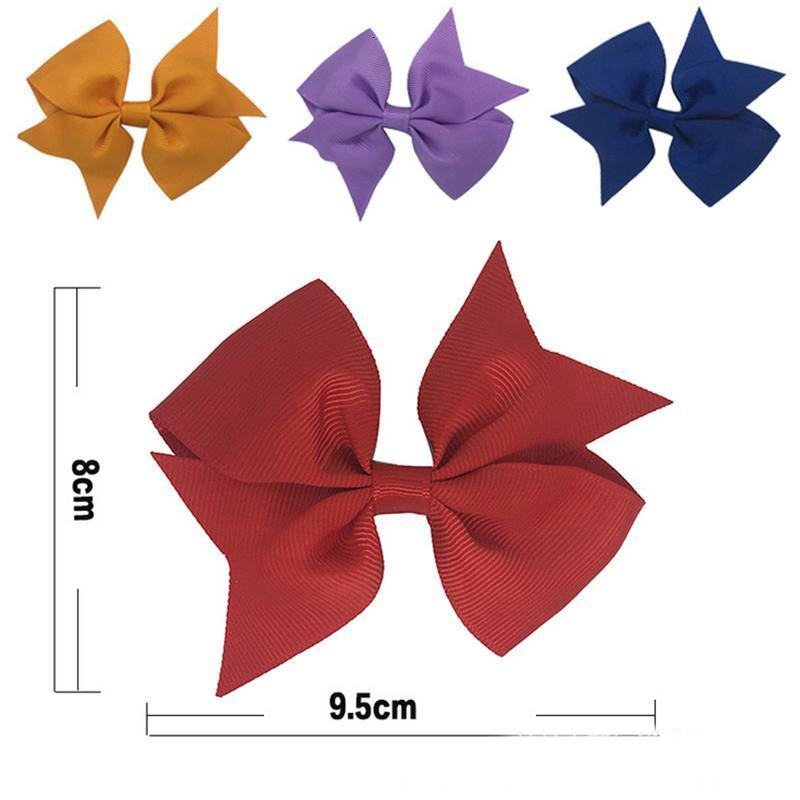 Ribbon Bows Clips Hairpin Girl
