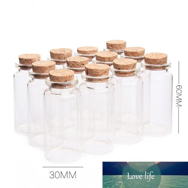 100x Colorful Message Wish Paper Scroll with Glass Bottle Jars Storage Case
