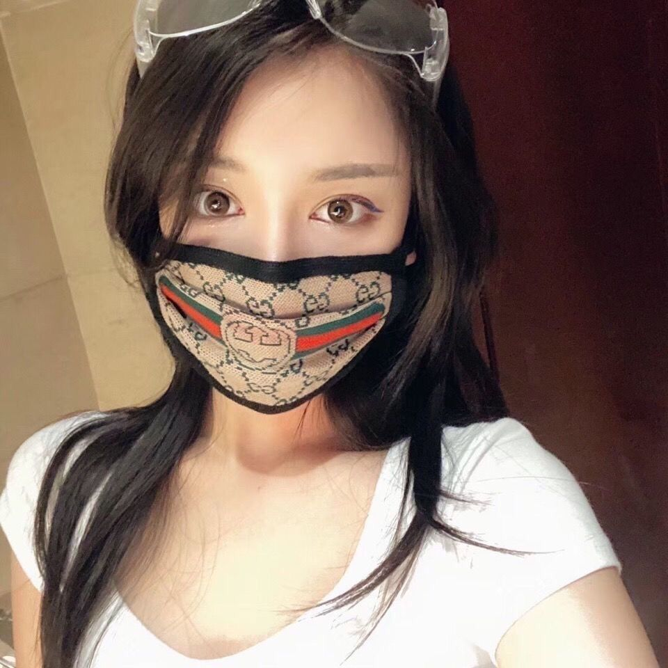 Luxury Face Mask Letter Print Breathable Fashion Masks Unisex Reusable Washable Cycling Outdoor Designer Mask for Women Girls