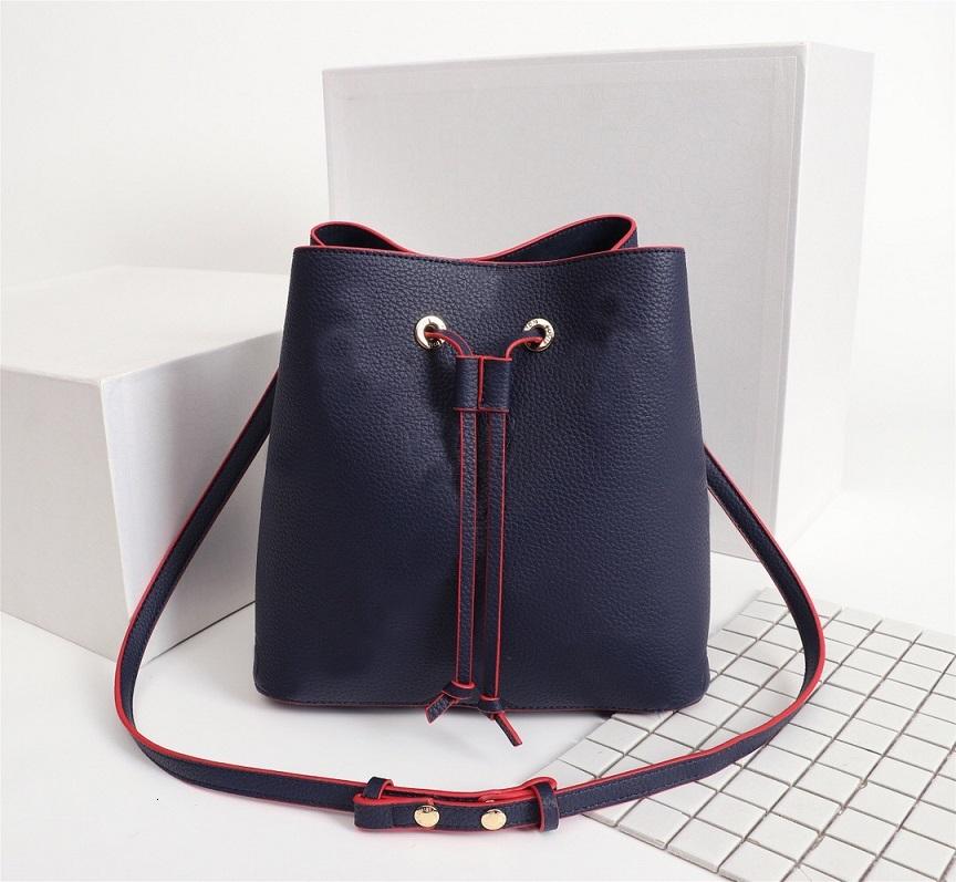 Original High Quality Fashion Handbags Purses Neonoe Bucket Bag Women Classic Style Genuine Leather Shoulder Bags