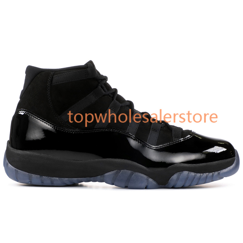 Bred 11 navy blue pink snakeskin men women basketball shoes concord with 45 11s cap and gown Blue UNC Georgetown trainers