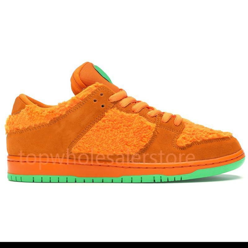 Cheap Chunky dunky Low Dunk yellow orange green bear Platform shoes tie-dye black university red gold midnight men women running sneakers