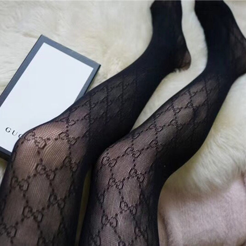 Summer Women' s Silk Tights Concise Style G printed Gloss Fashion Pantyhose Outdoor High Quality Anyi- UV Tighs