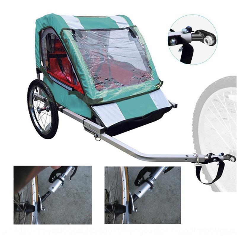 Towbar Bicycle Coupler Rear Riding Angled elbow Connector 1pc Bike Drawbar