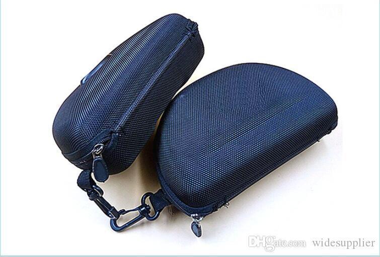 Zipper case box for Sunglasses Box Compression Glasses Case Black Sports sun glasses case box