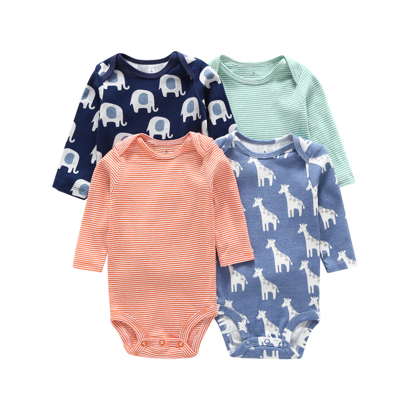 infant bebes baby long sleeve rompers set animal cotton cute newborn clothes o-neck baby boy girl bodysuit new arrived