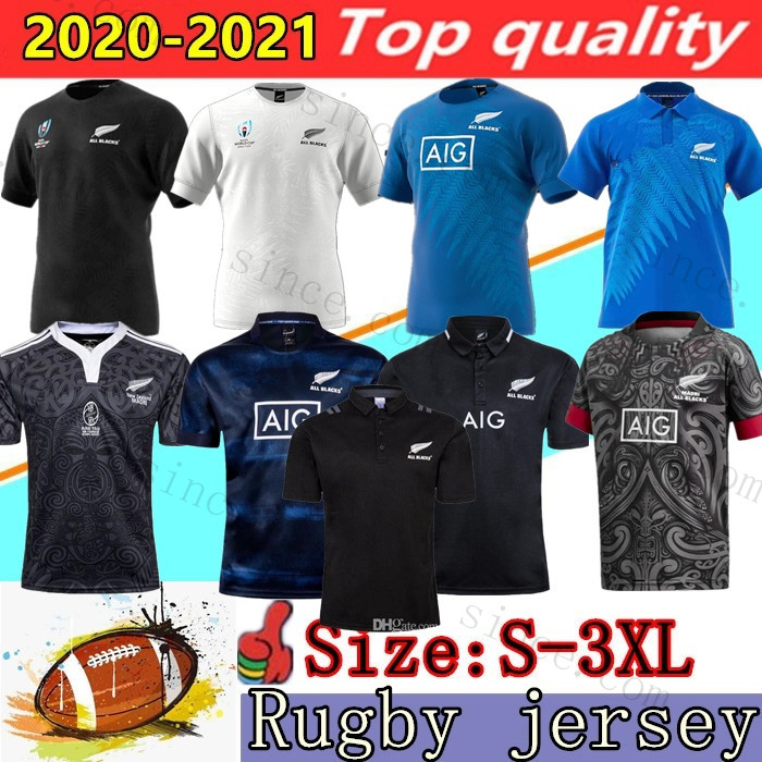 Mens 2020 Zealand Super Rugby Jerseys 2019 World Cup newZealand 18/ 19 /20/ 21 rugby shirts 100 year Anniversary Commemorative Edition shirt