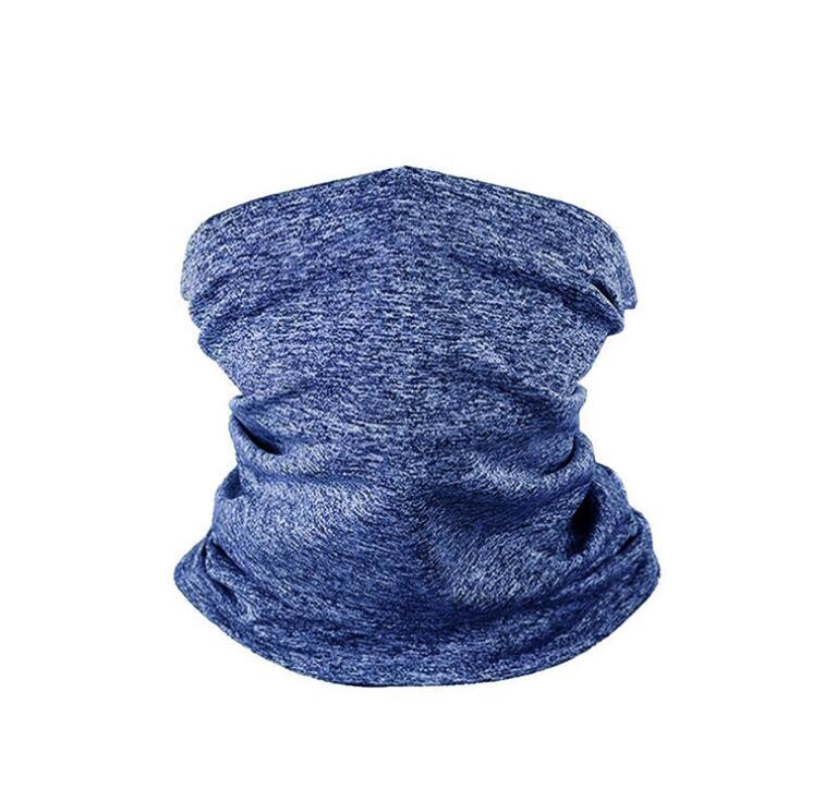 Face Masks Bandanas With PM 2.5 Filter Designer Mask Outdoor Head Scarves Neck Wrap Gaiter Cycling Face Mask Seamless Magic Scarf LSK248