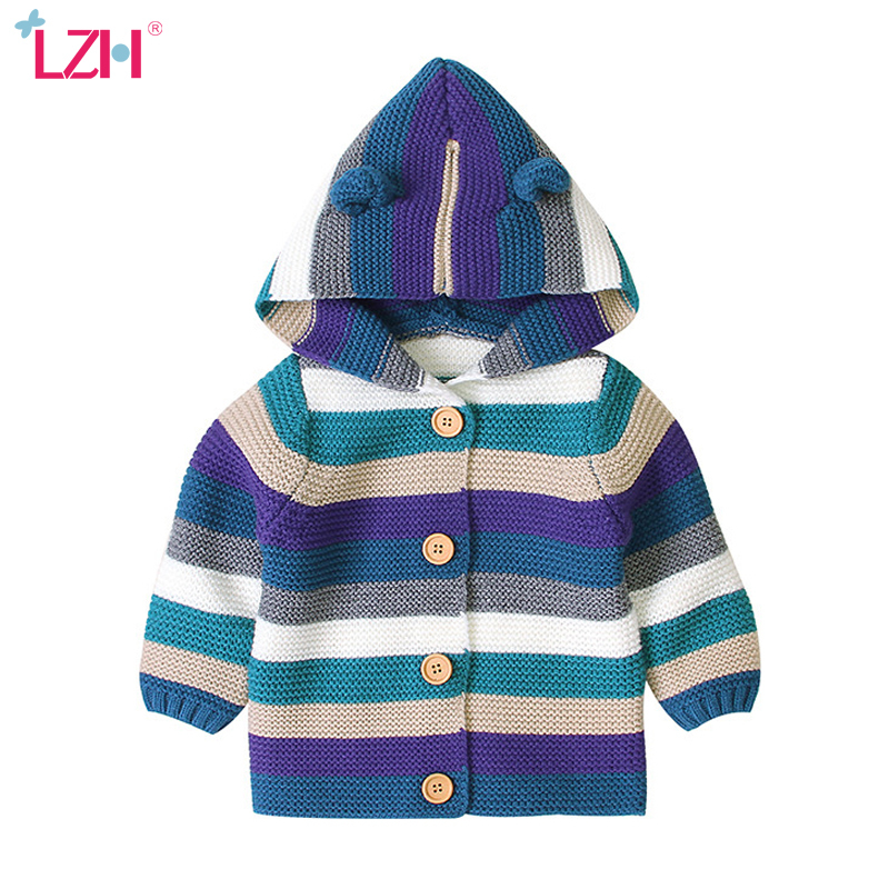 LZH 2020 Autumn Winter Kids Infant Jacket For Baby Girls