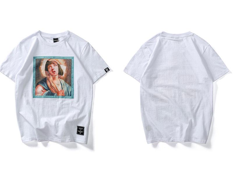 Virgin Mary Men\`s T-Shirts 2