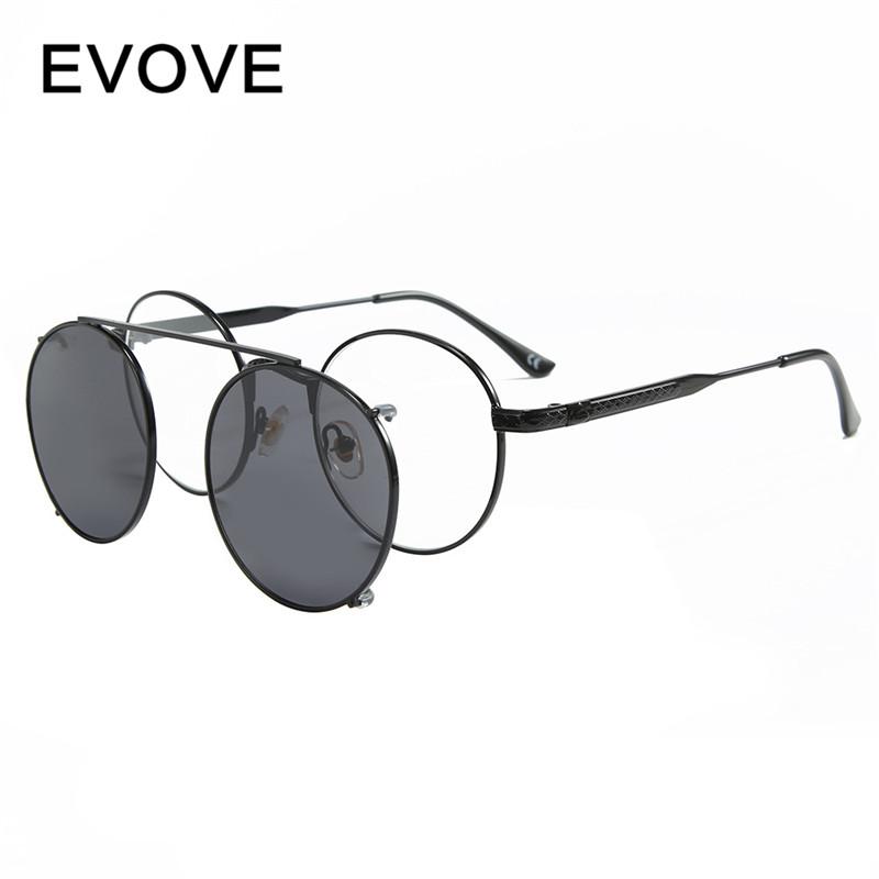 Mens Womens Pure Titanium Retro Double Bridge Full-Rim Aviator Eyeglass Frames