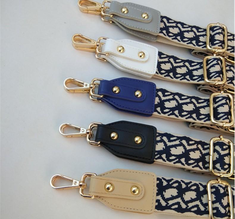 Printed Adjustable Strap Handbag Belt Wide Shoulder Bag Strap Replacement Strap Accessory Bag Part Adjustable Belt