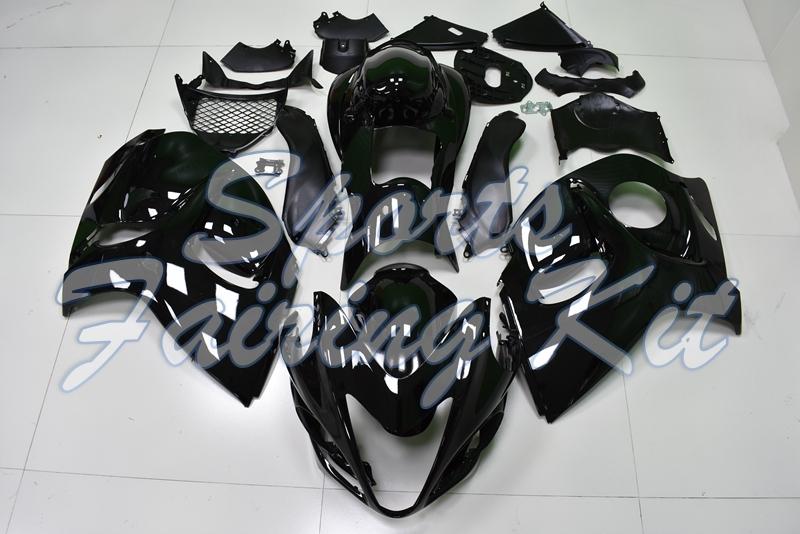 ASDZ Estrenar Pr/áctica Accesorios Moto 2019 Nueva de Piezas Suzuki Hayabusa GSX1300R GSXR1300 Accesorios de la Motocicleta de Escape Sliders Crash rellena el Protector, Color : Black