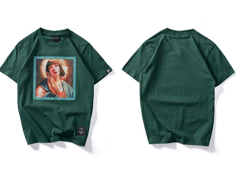 Virgin Mary Men\`s T-Shirts 1