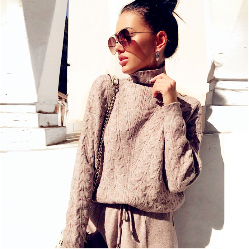 Womens-tracksuit-knit-two-piece-set-loose-pullover-sweater-and-pants-casual-trellis-women-long-sleeve