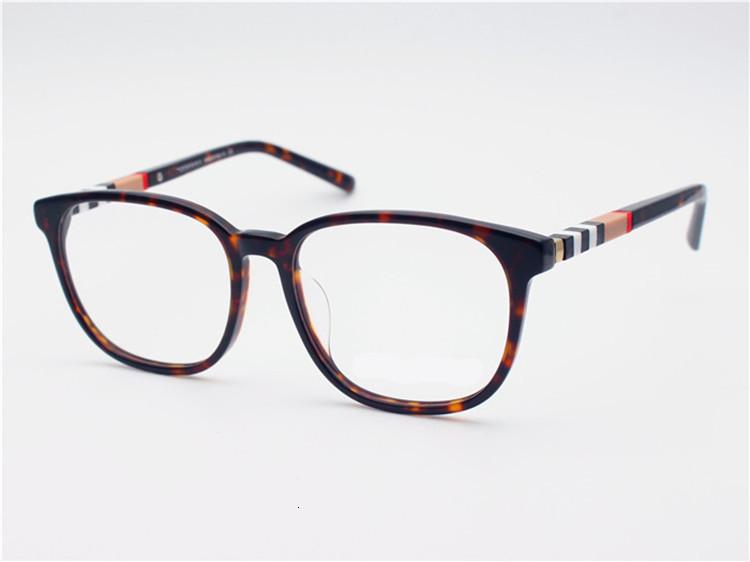 esigner prescriptioBrand-Quality B2188 eleglant female frame stripe temple dn glasses55-19-145pure-plank frame fullset case