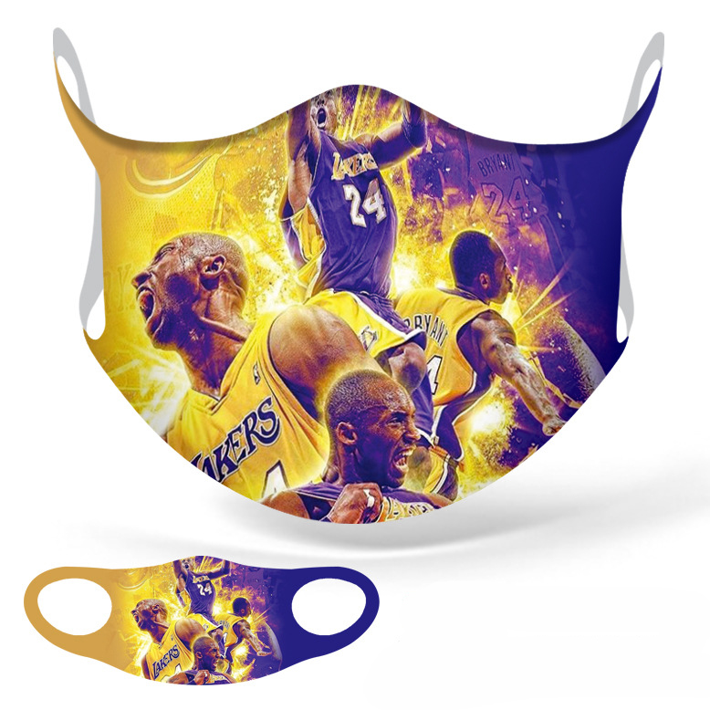 Fashion Ice silk Basketball Baseball Football Face Waterproof breathable PM2.5 Multi-function masks Sport Dust Mask More Styles