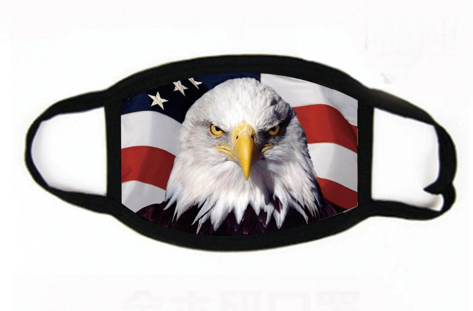 Trump Face Mask 2020 American Election Supplies Printing US Flag Fashion Dustproof Washable Reusable Cycling Mask 15 Styles HH9-3047