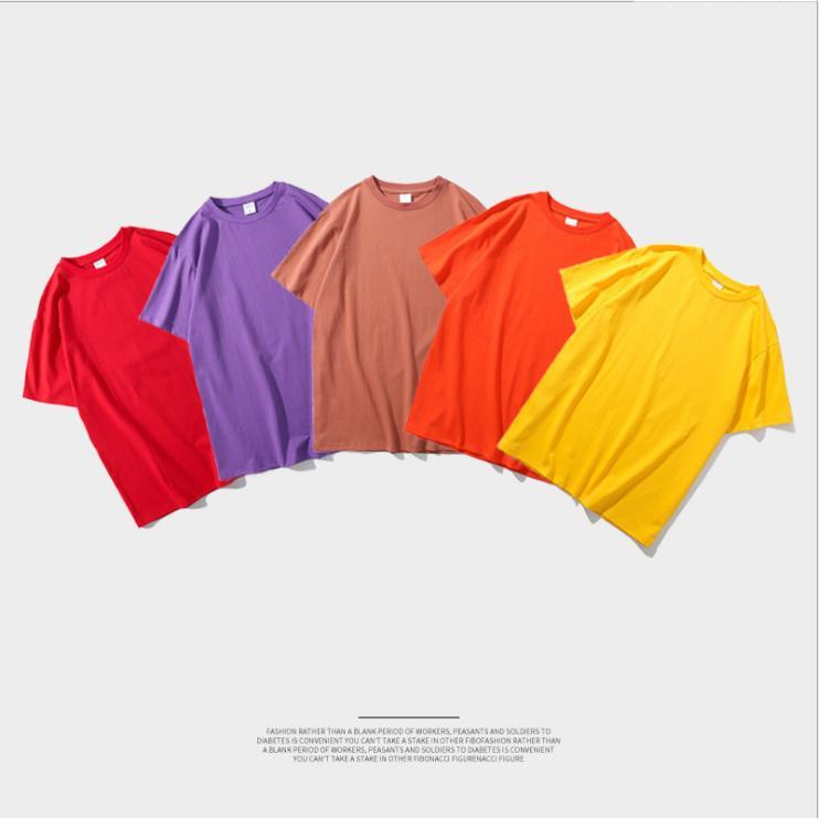 Cotton short sleeve men clothes casual oversize men`s t shirt