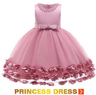 Girls-Wedding-Floral-Birthday-Princess-Party-Dress-Kids-Baby-Flower-Dress-Baby-Girl-One-Shoulder-Tutu_