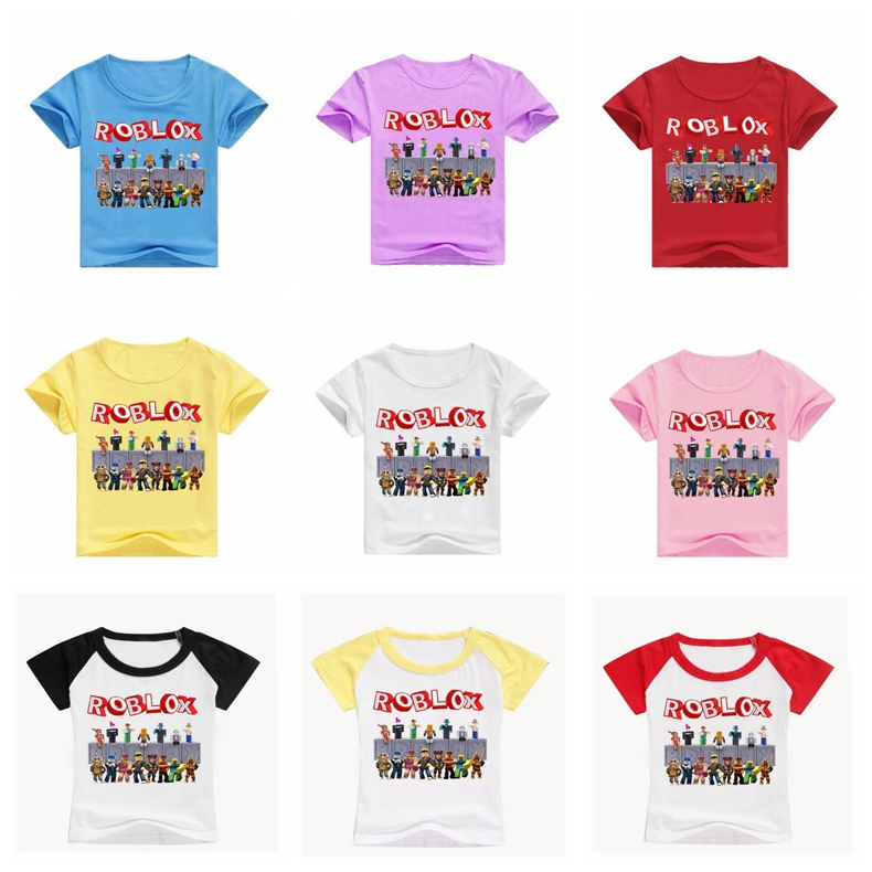 Roblox Children T Shirt Short Pants Outfit Kids Boys Girls Summer Fashion Casual Set Wish Wholesale Roblox Baby Clothes On Halloween Buy Cheap In Bulk From China Suppliers With Coupon Dhgate Com
