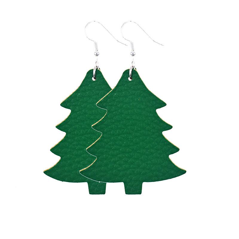 * árbol de navidad bala navideño aretes rosègolden plata 925 gancho 2cm