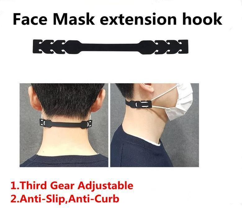Third Gear Adjustable Mask Ear Grips Extension Hook Face Masks Buckle Holder Adjustable Face Mask Hook Ear Buckle NpxKm trustbde