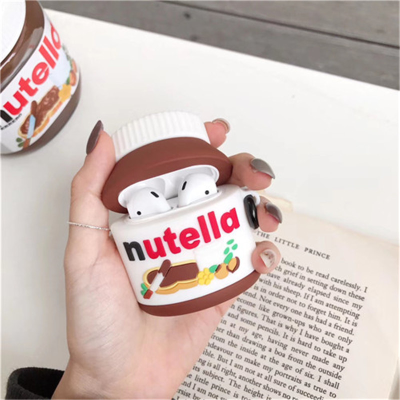 3D-Cute-sweety-Chocolate-sauce-bottle-Headset-silicone-soft-cover-For-Airpods-2-1-case-for
