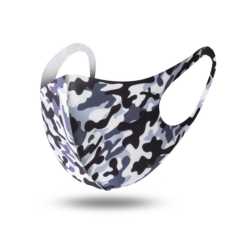 Adults Fashion Anti Dust Breathable Face Masks Muffle Respirator Mouth Masks Camouflage Masks PM2.5 Mouth Cover Reusable Dust Mask