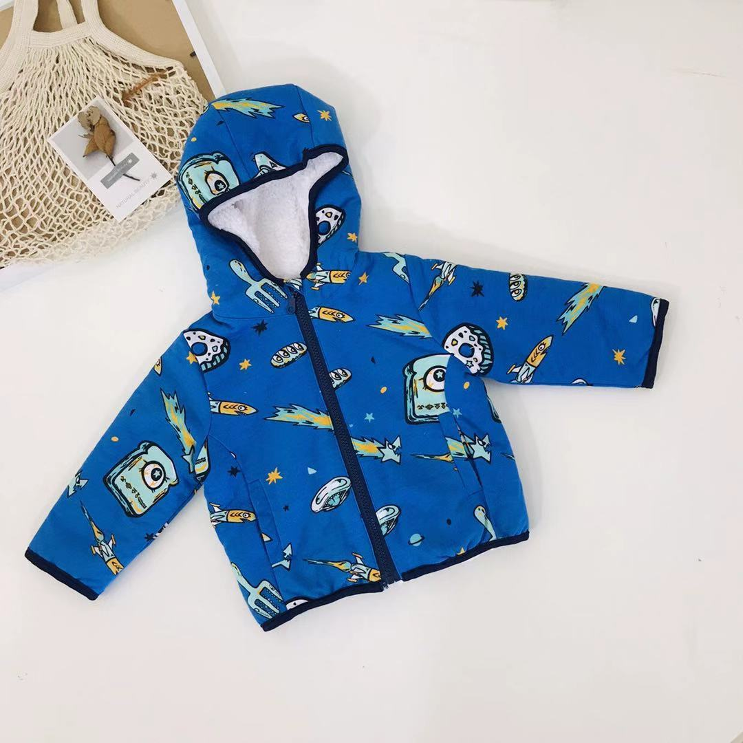 baby boy winter clothes long sleeve hooded coat fleece infant jackets zipper toddler kids coats camouflage fashion 2020