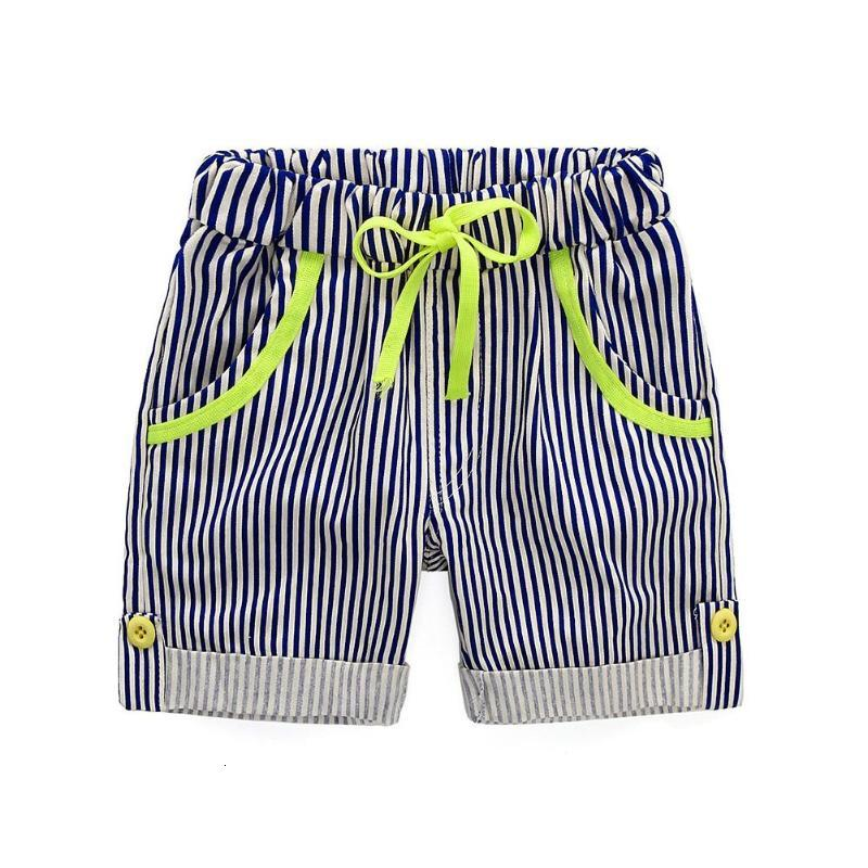 Summer Children Clothing Set Cotton Boys Clothes Cartoon Whale Print Short Sleeve T-shirt + Striped Shorts Pants Outfits