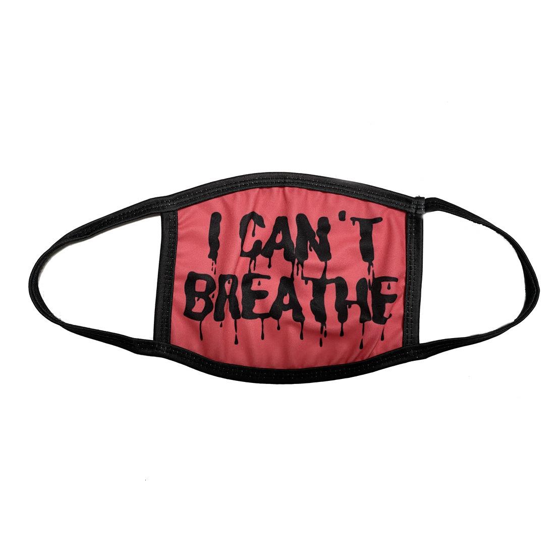 Plenty In Stock I Cant Breathe Silk Face Masks Washable Masks Summer Out Door Sport Riding Masks Fashion Designer Mask for Adults Kids DHL