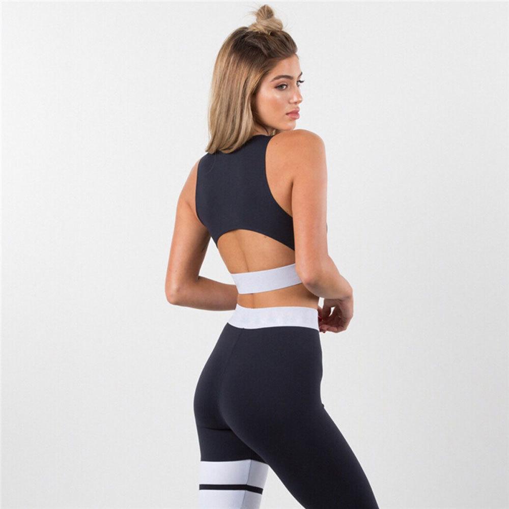 Jumpsuit Yoga Sets Women Gym Wear (4)