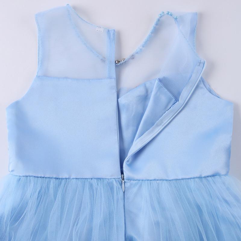 Elegant Pearl Applique Girls Dresses Teenage Princess Birthday Wedding Party Ball Gown Fashion Children Dress For Kids Clothes (10)