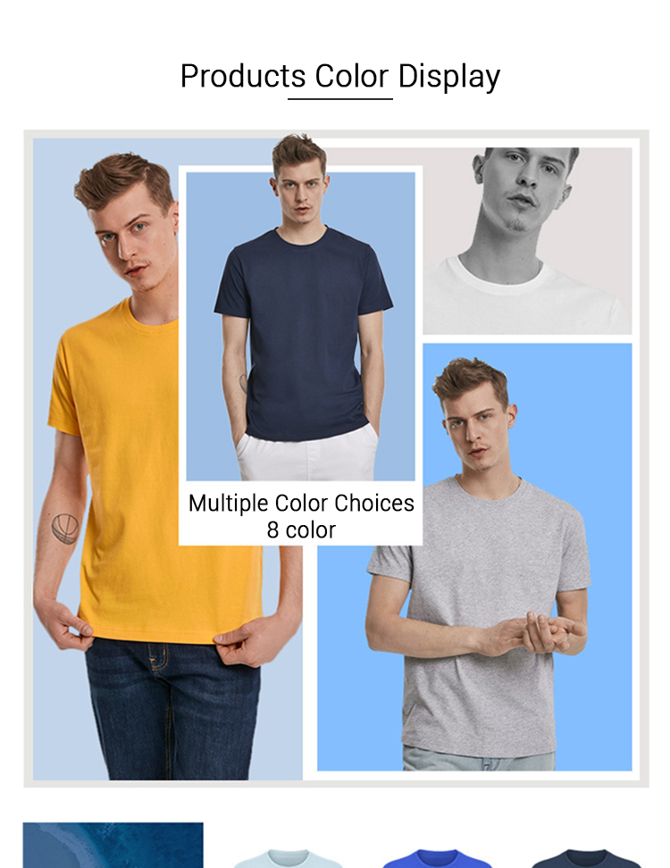 High Quality Quick Dry 100% Cotton Solid Color Mens Blank Wholesale Plain Fitness Sport Running T Shirts